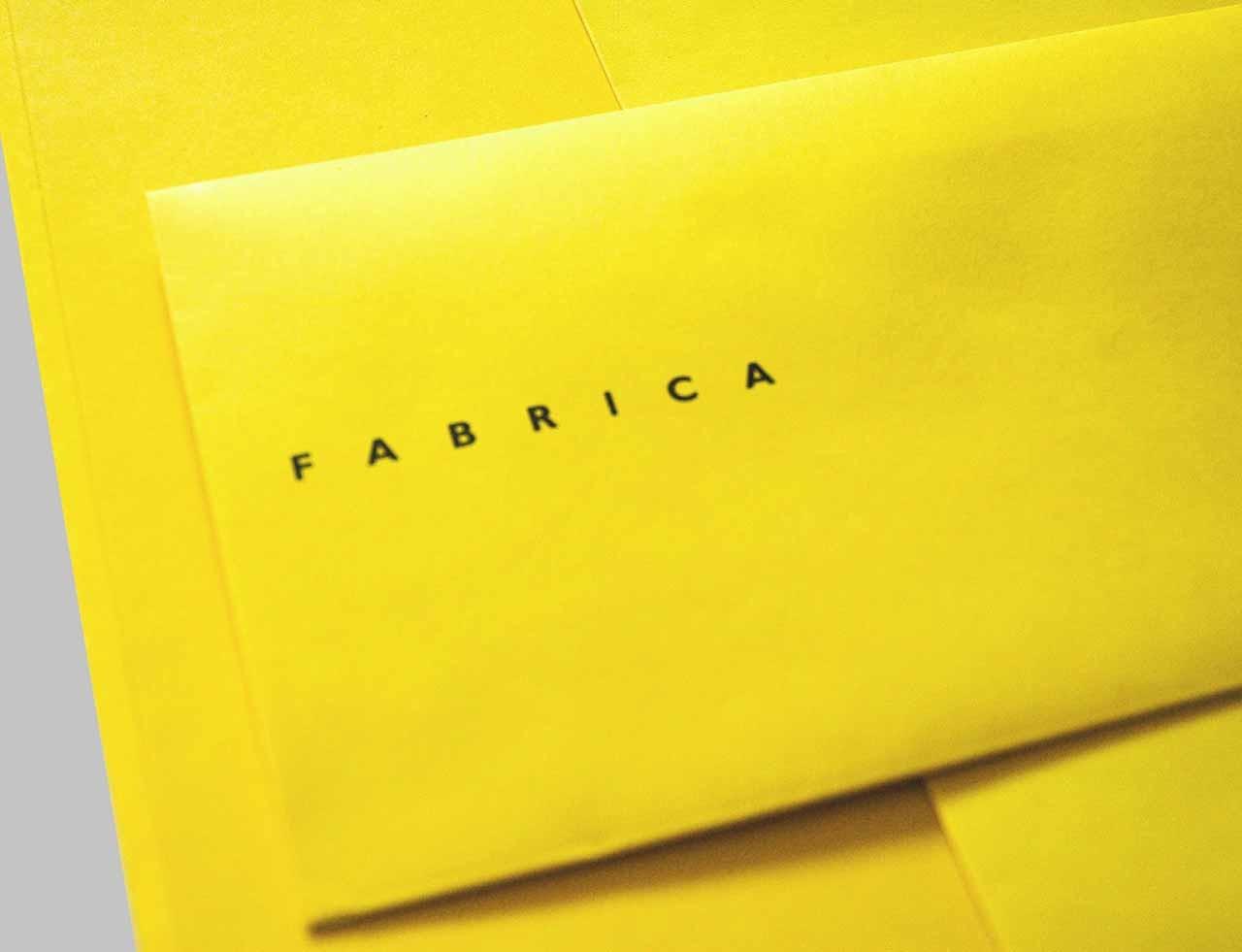 Isotype Fabrica identity