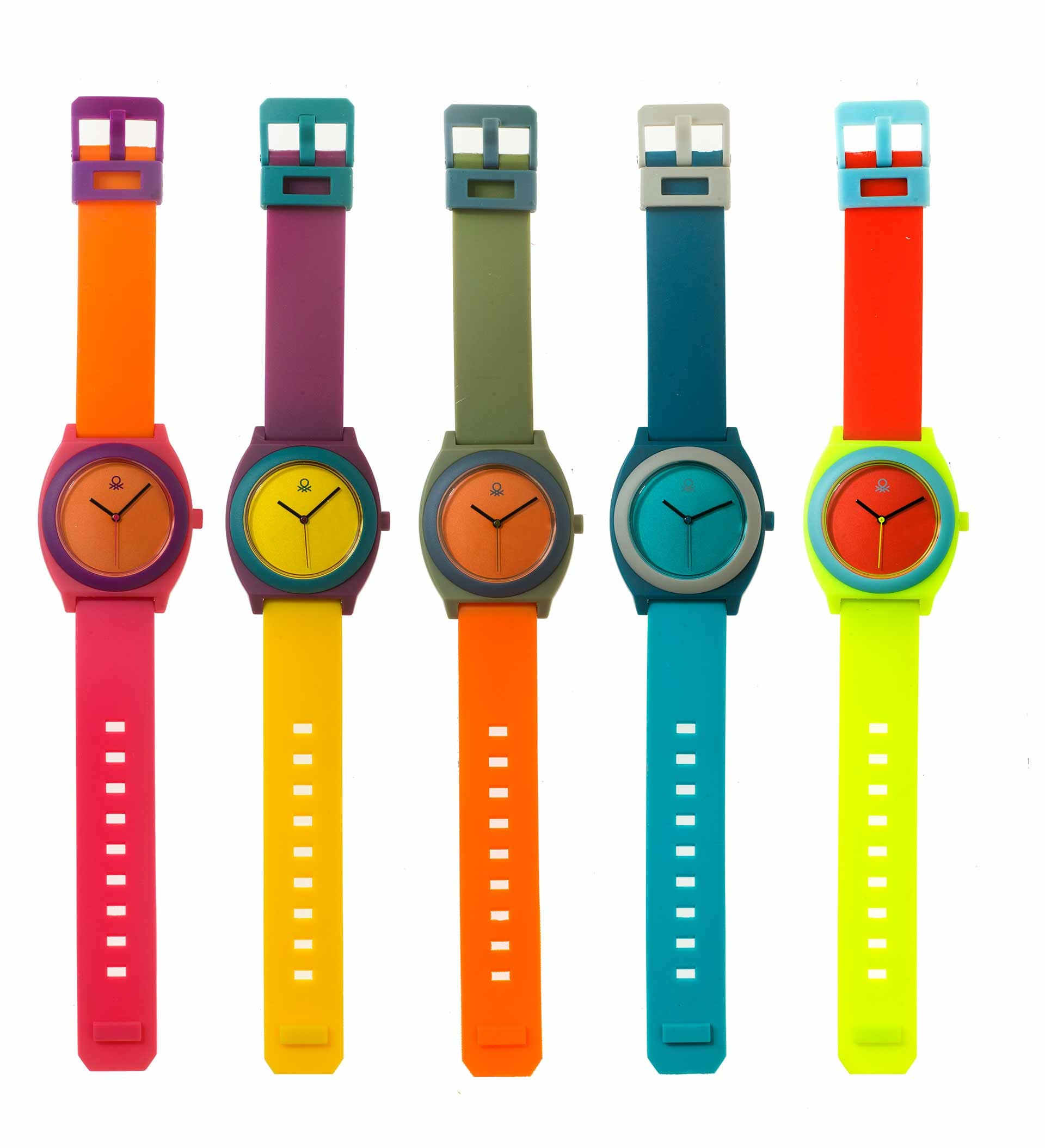Isotype Benetton clocks