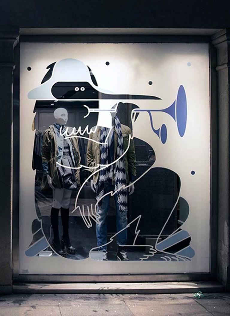 Isotype Vetrina Sisley carnevale